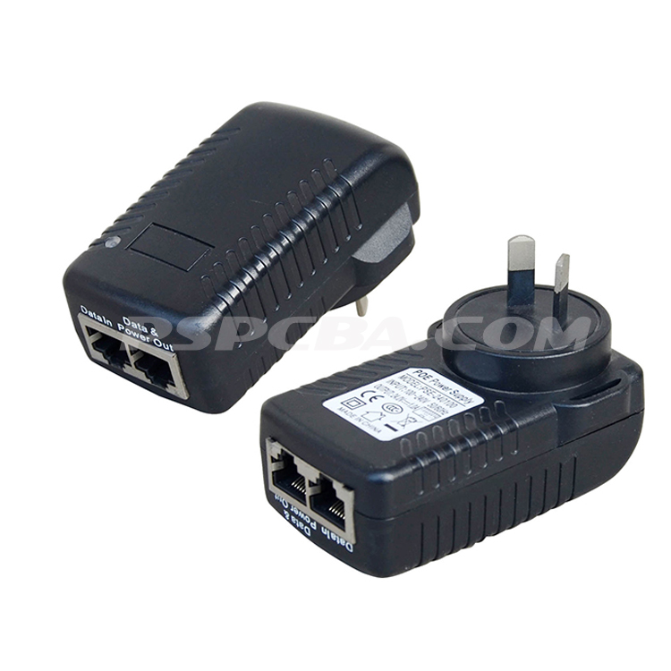 24 watt 10/100Mbps Wall AU POE injector Adapter - copy